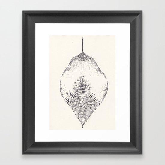 spirograph Framed Art Print