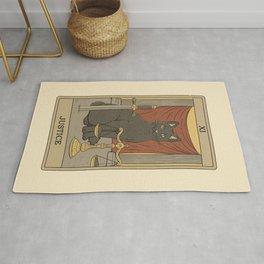 Justice - Cats Tarot Rug