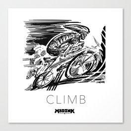 #MADink #Cycling #Series #CLIMB Canvas Print