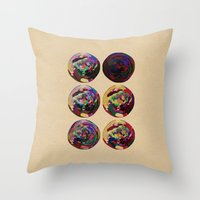 scorpio Throw Pillows featuring - scorpio - by Digital Fresto