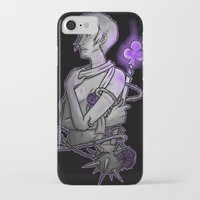asexual iPhone & iPod Cases featuring Ace of Clubs by Kieran Thompson