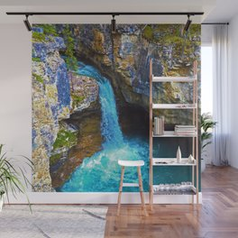 Stanley Waterfall & Beauty Creek, Jasper National Park Wall Mural