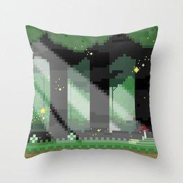 Zelda: Lost Woods Throw Pillow