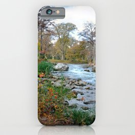 The Guadalupe River iPhone Case