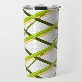 Deco Stripes Avacado Travel Mug