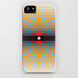 Momo pixel iPhone Case