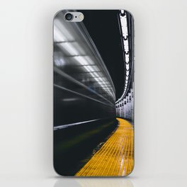The Subway (Color) iPhone Skin