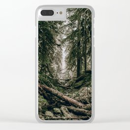 Into the Wild XVI Clear iPhone Case