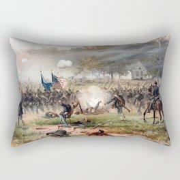 The Battle of Antietam Rectangular Pillow