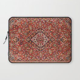 Kashan  Antique Central Persian Rug Print Laptop Sleeve
