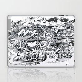 Art is Love Laptop & iPad Skin