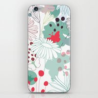 wonderland iPhone & iPod Skins featuring Wonderland by Demi Goutte