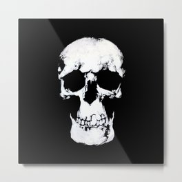 Sherlock Why Do You Have a Skull on Your Wall? Metal Print