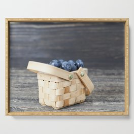 blueberry basket Serving Tray