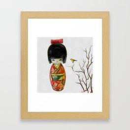 Kohi Framed Art Print