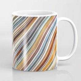 Wild Wavy Lines XV Coffee Mug