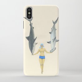 The Shark Charmer iPhone Case