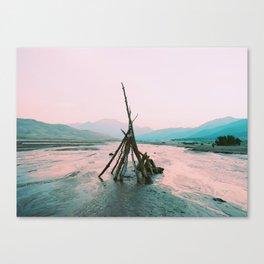 Primitive Structures, FILM Canvas Print