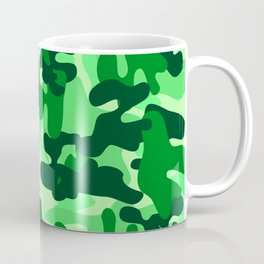 Camouflage (Green) Coffee Mug