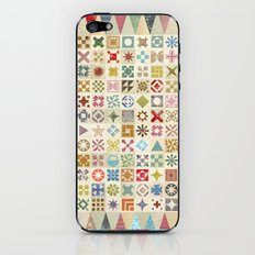 Jane's Addiction to Quilting iPhone & iPod Skin