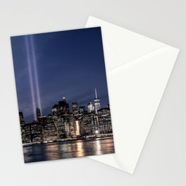 Tribute in Light. New York City, 4 Stationery Cards