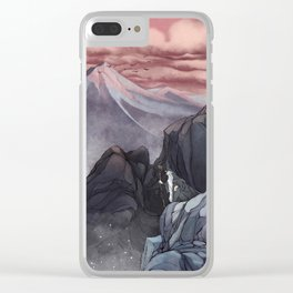 Roads go Ever Ever On Clear iPhone Case