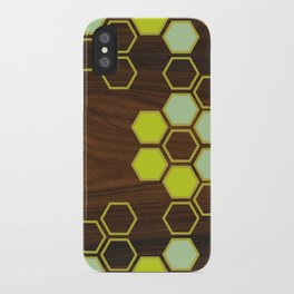 Hex in Green iPhone Case