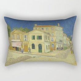 The Yellow House by Vincent van Gogh Rectangular Pillow