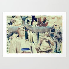 Come to me, I'll rest your soul Art Print