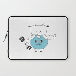 Fitness Goat - Greatest Of All Time Laptop Sleeve