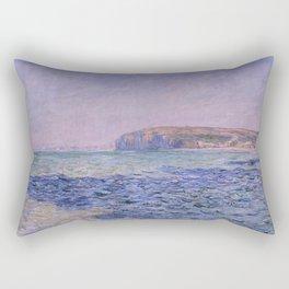 Claude Monet - Shadows on the Sea - Cliffs at Pourville Rectangular Pillow