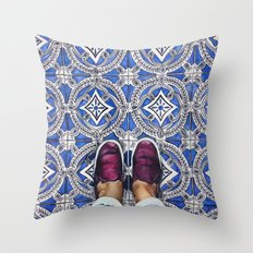 Art Beneath Our Feet - Ancona, Italy Throw Pillow