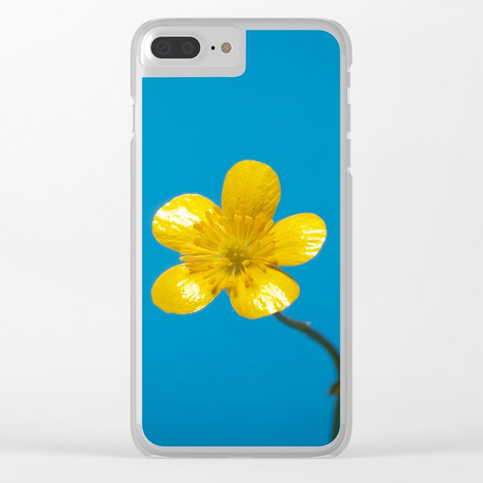 Buttercup Clear iPhone Case