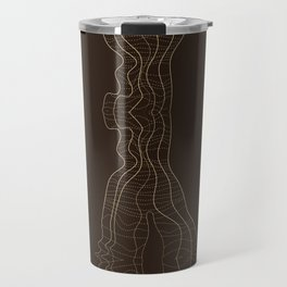 Disturbed Lines Travel Mug
