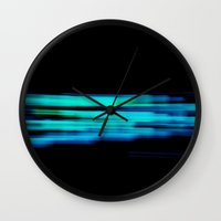 wiz khalifa Wall Clocks featuring wiz II by Mark Spence