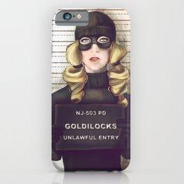Goldilocks iPhone Case