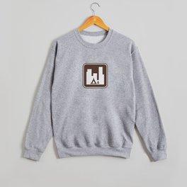 "Urban Pictograms ""Urban Camping"" Crewneck Sweatshirt"