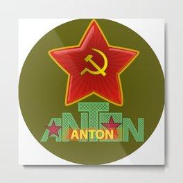 Anton USSR Metal Print