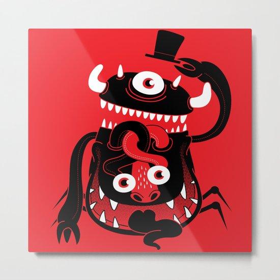Mister Monster Metal Print