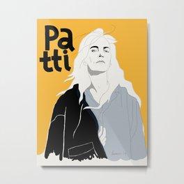 Patti Smith Metal Print