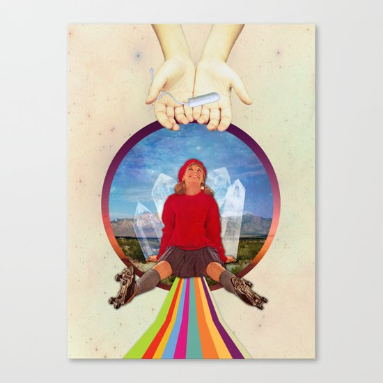 Plug Canvas Print