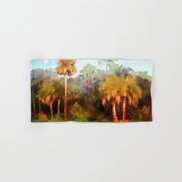 Moonrise over the Palms Hand & Bath Towel
