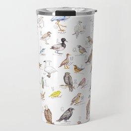 Birds of the Pacific Northwest Travel Mug
