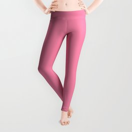 From The Crayon Box – Inspired by Tickle Me Pink - Bright Pink Solid Color Leggings