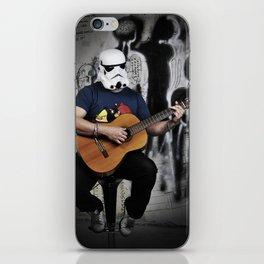 music stormtrooper  iPhone Skin