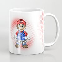 mario kart Mugs featuring It's ME, Mario !  by Art & Be