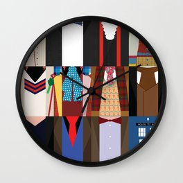 The Doctors - Doctor Who & TARDIS Wall Clock