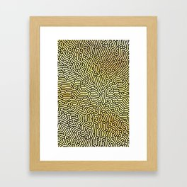 Abstract Pattern XIX Framed Art Print