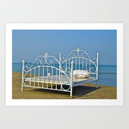 Art at the Beach  Art Print