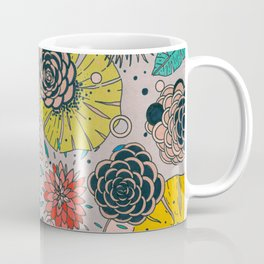 Olga loves flowers Coffee Mug